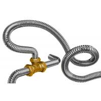 Труба гибкая гофрированная из нержавеющей стали для газа и воды