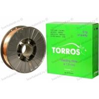 Проволока омедненная сварочная TORROS 0,8 мм (5кг)