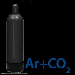 Смесь аргона с углекислым газом