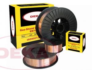 Проволока омедненная сварочная ER70S-6 DEKA 1,2 мм