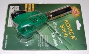 Газовая горелка KOVICA (KS-1005) с пьезоподжигом